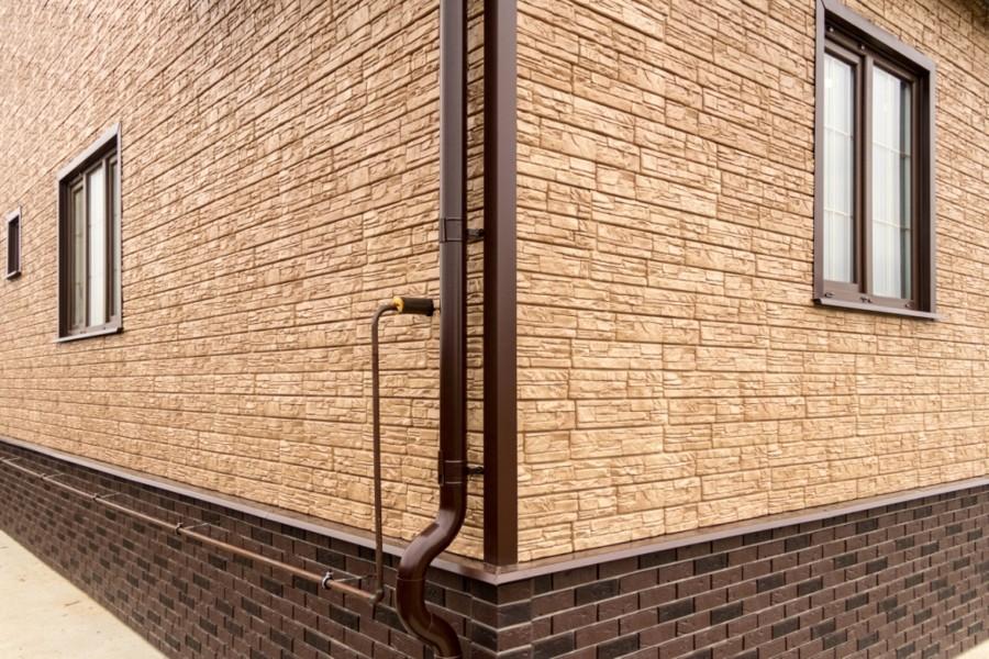 , Фото работ с фасадными панелями